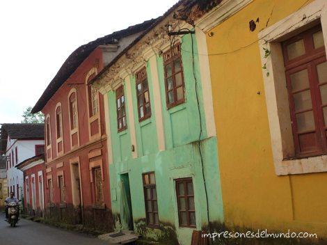 casas de colores Panaji Impresiones del mundo