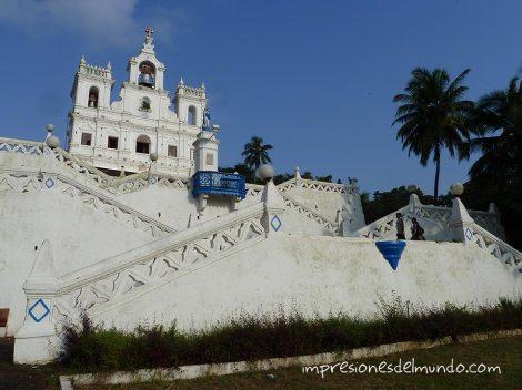 iglesia Panaji Impresiones del mundo