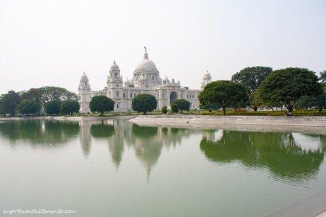 Victoria-memorial-Calcuta-impresiones-del-mundo
