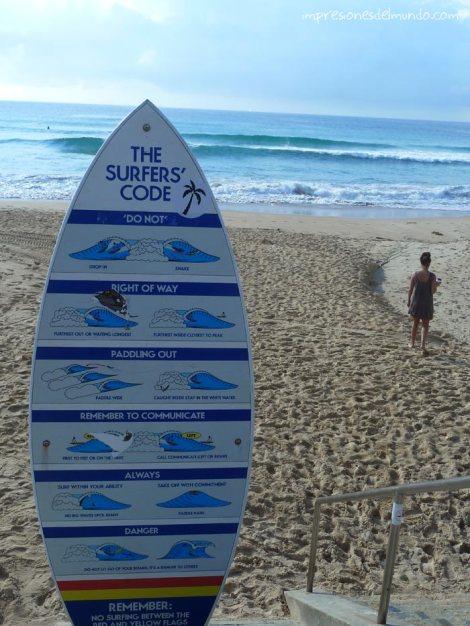 código-surfista-Manly-Sydney-impresiones-del-mundo