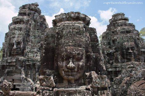 detalle templo Bayon-Angkor-Wat-impresiones-del-mundo