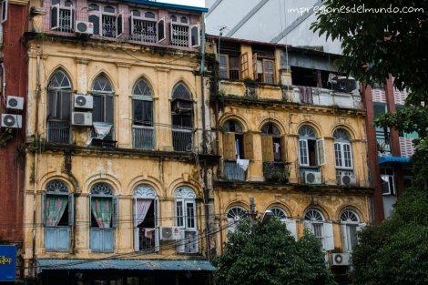edificios-Yangon-Myanmar-impresiones-del-mundo
