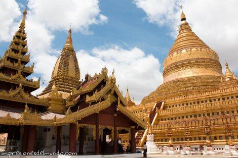 complejo-templo-dorado-Bagan-Myanmar-impresiones-del-mundo