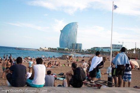 paseo-maritimo-y-la-vela-barcelona-impresiones-del-mundo