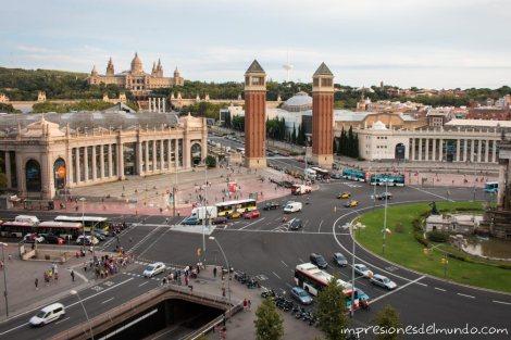 plaza-españa-barcelona-impresiones-del-mundo