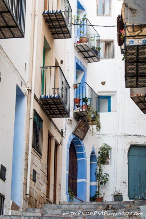 calle-Peñíscola-impresiones-del-mundo