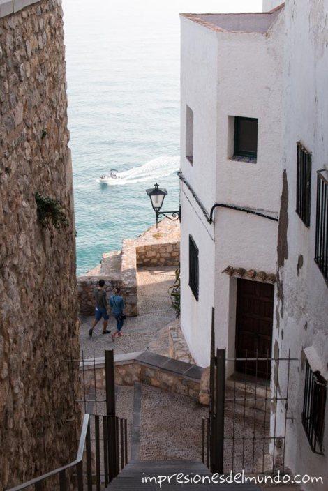 escaleras-Peñíscola-impresiones-del-mundo