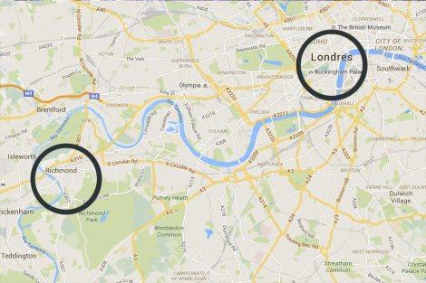 mapa-Richmond-Londres-impresiones-del-mundo